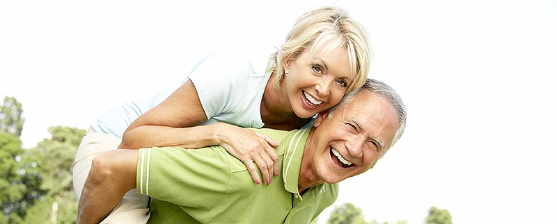 Overdenture and a Husband and Wife